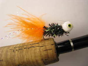 Booby Nymf Black/Orange 12 pack