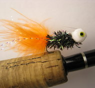 Booby Nymf Black/Orange 12 pack