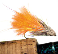Marabou Muddler Orange 6 pack
