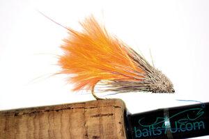 Marabou Muddler Orange 12 pack