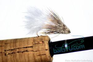 Marabou Muddler White 6 pack