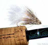 Marabou Muddler White 6 pack