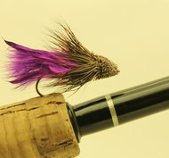Marabou Muddler Lila (Purple) 6 pack