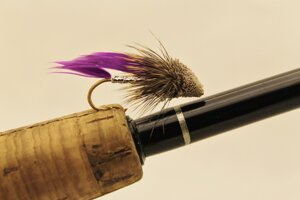 Muddler Minnow Purple